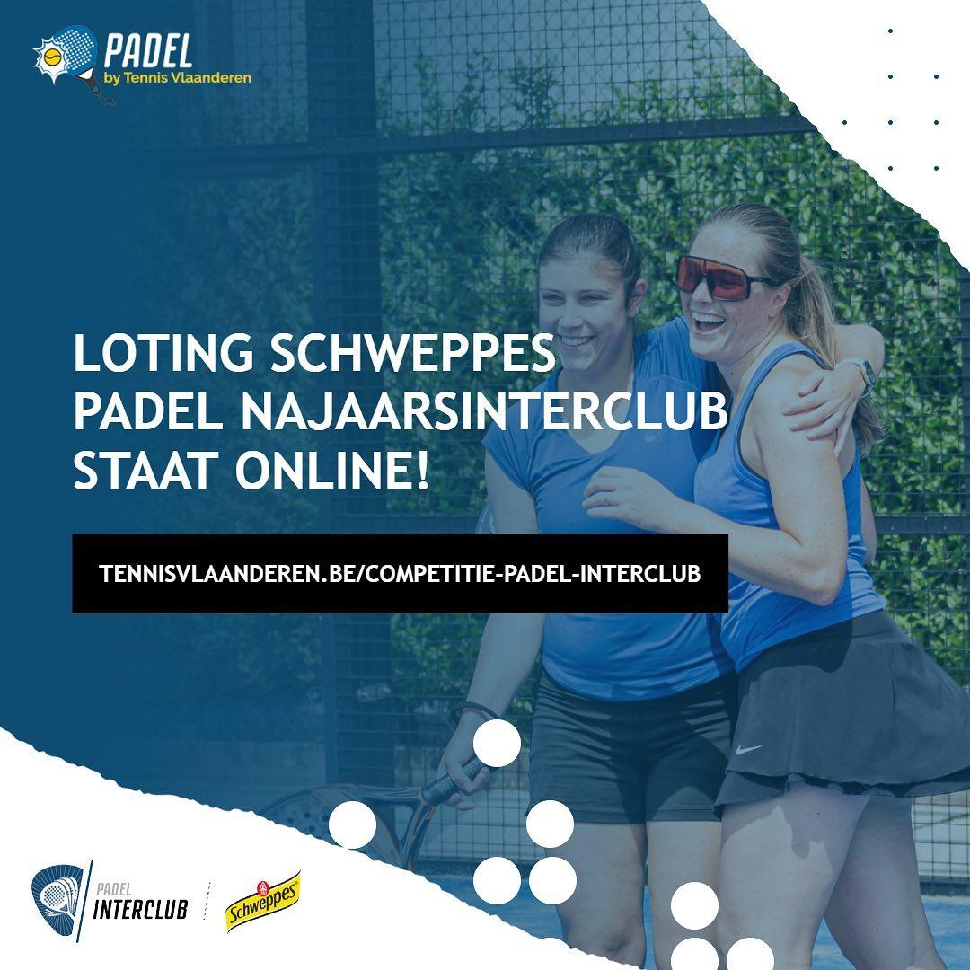 Loting Padel Najaarsinterclub online