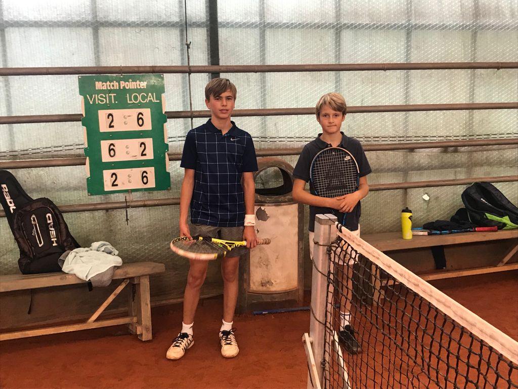 Finale clubkampioenschap tennis jeugd 2021